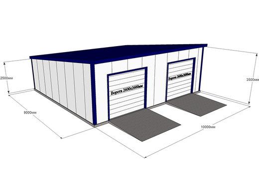 Готовые гаражи для сто купить сборный гараж днепропетровск